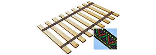 Navajo Themed Youth / Toddler / Crib Size Custom Width Bed Slats - Choose your needed size - Eliminates the need for a link spring or box spring! (Custom Size Crib Mattress compare prices)