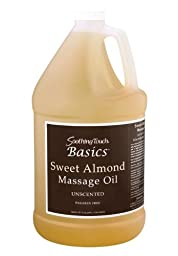 Soothing Touch W67353G Basics Sweet Almond Oil, 1 Gallon
