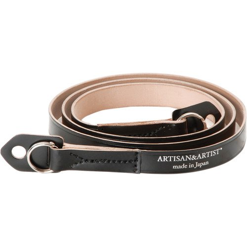 Artisan&Artist* Cordovan Leather Camera Strap - Black