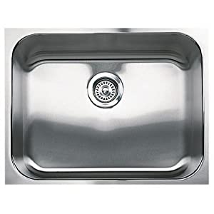 Blanco 501-304 Spex Plus Single Bowl Undermount Kitchen Sink, Satin Finish