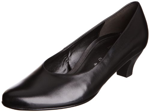 Gabor Womens Bali Black Court Shoes 6.020.37 3.5 UK, 36 EU