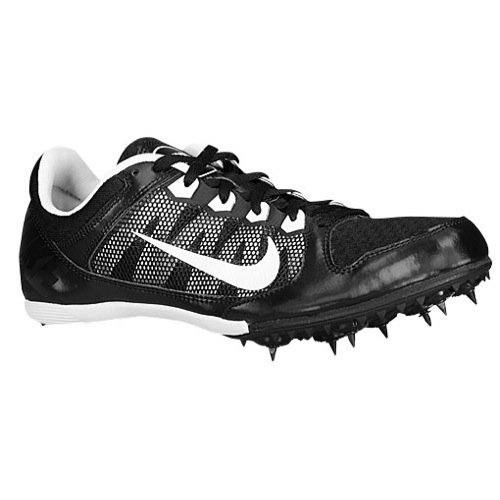 Nike Zoom Rival MD 7 Track Spike (6.5, Black/White) (Nike Zoom Rival Md 7 White compare prices)