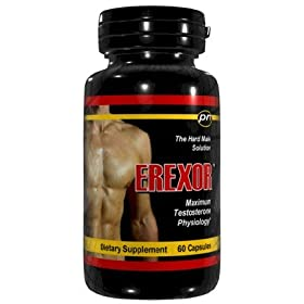 Erexor Male Enhancement Penis Enlargement Pills 60 Capsules