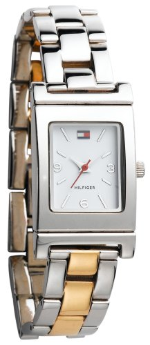 Tommy Hilfiger Women's 1700164 Reversible Two-Tone Stainless-Steel Bracelet Watch