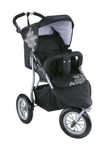 knorr baby 883930 passeggino joggy s colore bianco nero. Black Bedroom Furniture Sets. Home Design Ideas