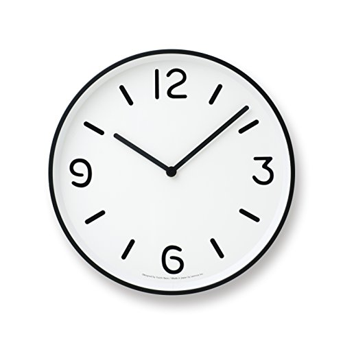 Lemnos MONO Clock ホワイト LC10-20A WH