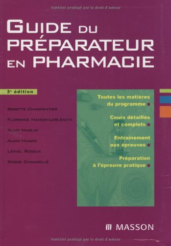 annales bp du preparateur en pharmacie sujets officiels et corr