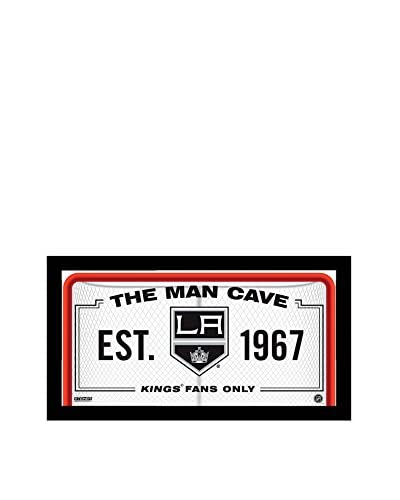 Steiner Sports Memorabilia Los Angeles Kings Man Cave Sign, 10 x 20