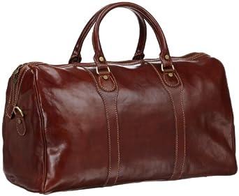Floto Luggage Milano Duffle Bag, Vecchio Brown, One Size