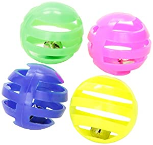 Ethical Pet Slotted Balls, Pack of 4