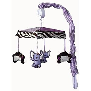 Musical Mobile for Safari Baby Bedding Set