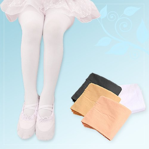 Tights (solid type) salmon pink S (90-110 cm) | Ballet tights adult children's kids ' Junior children children's cheap made in Korea dance ballet supplies store lessons for practice hooter type