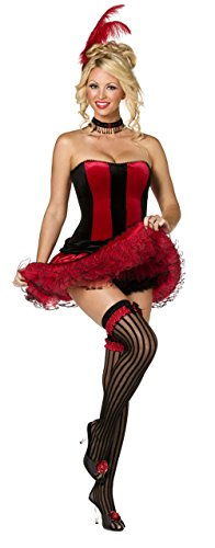 Can Can Sweetie Sexy Corset Saloon Girl Costume 35022