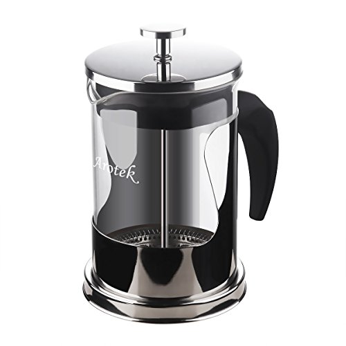 Why Should You Buy French Press Coffee Tea Maker Arotek 6 Cup Stainless Steel Detachable Espresso Ma...