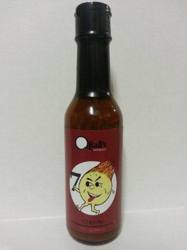 Qball'S Hotsauce: 7 Ball Chipotle Hot Sauce 5 Fl Oz