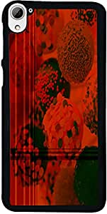PrintVisa Abstract Chocolate Icecream Back Cover for HTC Desire 826 (2D-HTCD826-D7652)