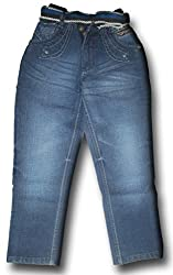 Topchee Kids' Jeans (JNK-13_Blue_11 to 12 Years)