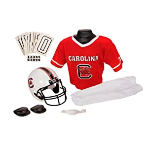 South Carolina Gamecocks 2010 Kids Youth Football Helmet and Uniform Set by Franklin