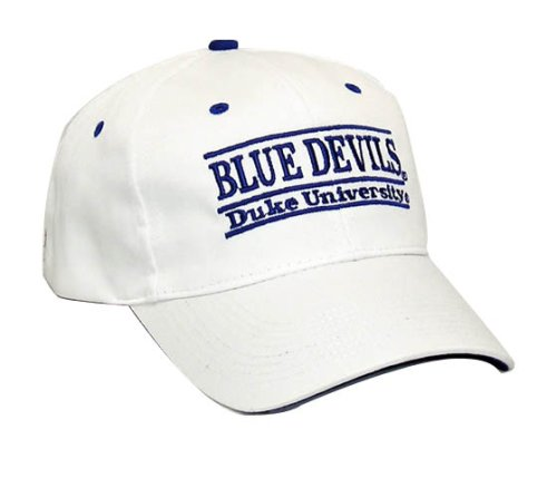 Duke Blue Devils 'The Game' Classic White Nickname Bar Adjustable Hat at Amazon.com