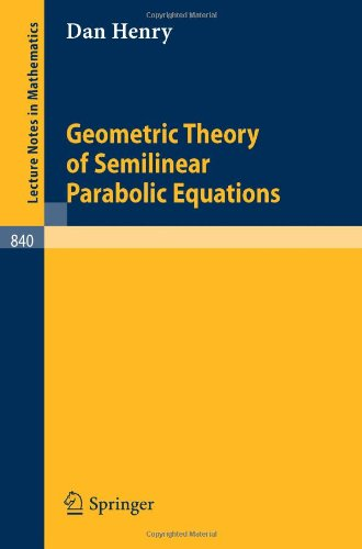 Geometric Theory of Semilinear Parabolic Equations
