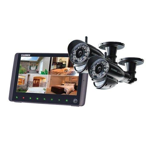 "Lorex Lw2962H | 9"" Lcd Microsd System W/2 Outdoor Cameras"