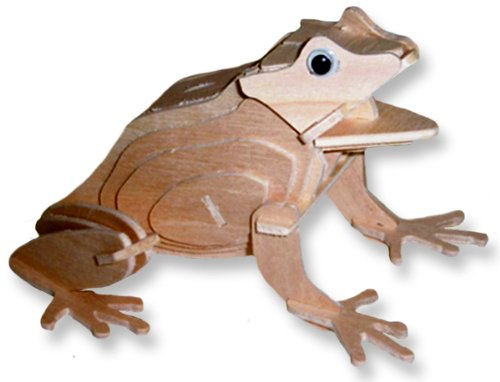 Cheap All4LessShop 3-D Wooden Puzzle – Frog -Affordable Gift for your Little One! Item #DCHI-WPZ-M041 (B004QDVE4S)