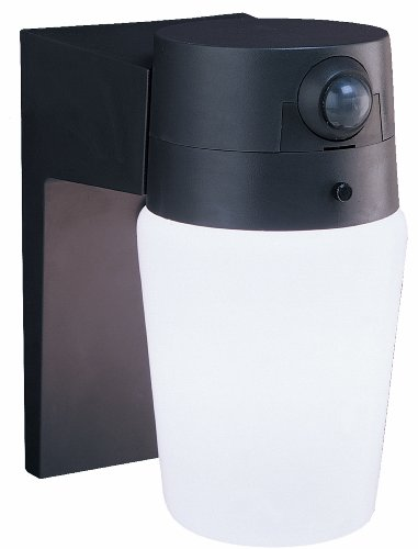 Heath/Zenith SL-5610-BZ-A Entryway Motion-Sensing Security Light, Bronze
