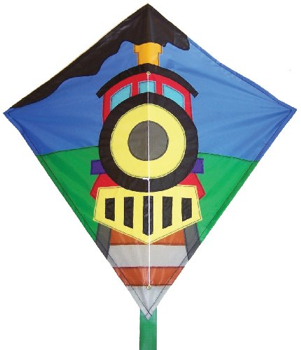 In the Breeze Train Diamond Kite, 28-Inch