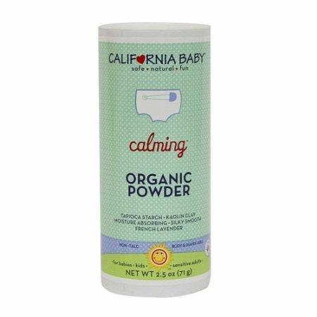 California Baby Calming Organic Powder 2.5 Oz (75 G)
