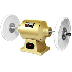 Neiko 2.35 Amp 6-Inch Bench Grinder Buffer with 2 Buffing Wheels from Neiko Tools