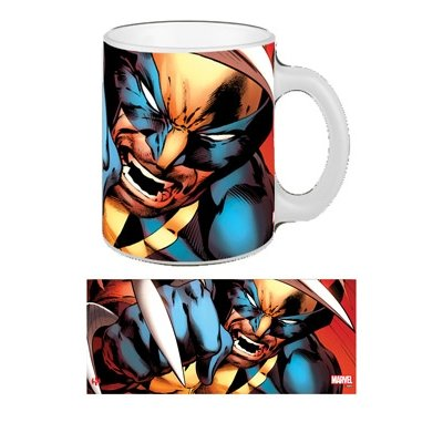 Wolverine Tazza Close Up