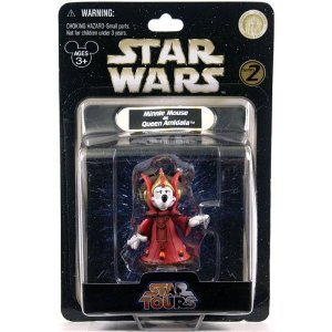 Star Wars - Star Tours - Minnie Mouse as Queen Amidala Action Figure - 1