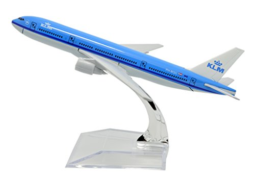 TANG DYNASTY(TM) 1:400 16cm Boeing B777 KLM Metal Airplane Model Plane Toy Plane Model (Klm Model Plane compare prices)