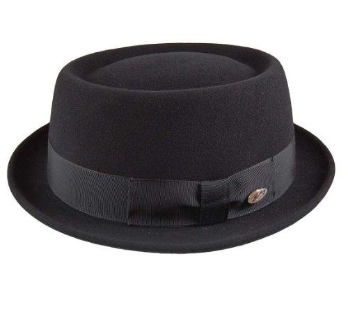 Bailey Darron Telescope-Crown Hat (Large, Black)