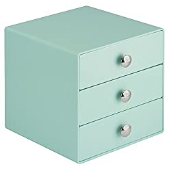 InterDesign 3-Drawer Multipurpose Storage Container with Knobs