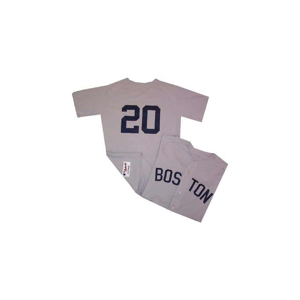 5290b697c Kevin Youkilis Authentic Boston Red Sox Jersey TBTC 1982 on PopScreen