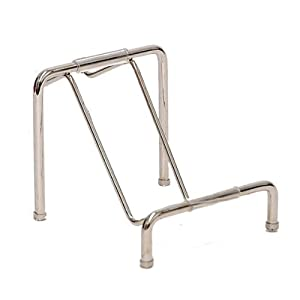 Dasein Clutch Purse Handbag Metal Display Stand Rack- silver