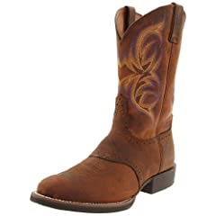 Buy Justin Boots Mens Stampede-7200 Boot by Justin Boots