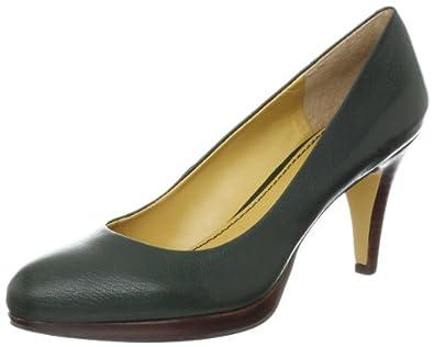 Amazon.com: Nine West Women's Selene Pump, Dark Green Leather, 9 M US