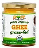 Grassfed Organic Ghee 7.8 Oz - Pure Indian Foods