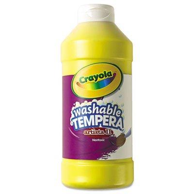 Crayola Artista II Washable Tempera Paint, Yellow, 16 oz givenchy платье от givenchy 76054