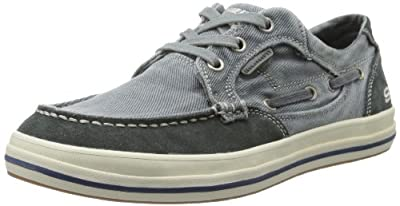 Skechers Men's Relax Fit Diamondback Leroy Fashion Sneaker