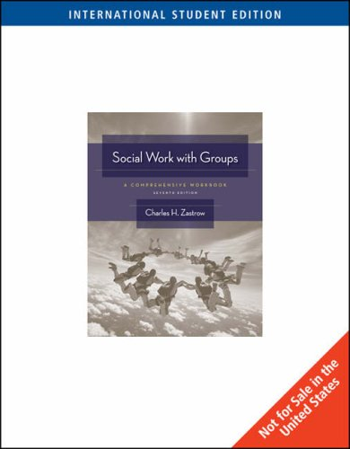 social work with groups a comprehensive workbook 8th edition pdf