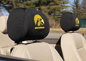 Buy BSI Iowa Hawkeyes Headrest Covers by BSI