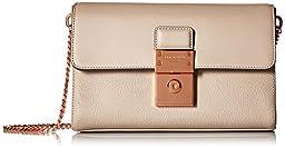 Ted Baker Madisun Messenger Bag, Light Grey, One Size