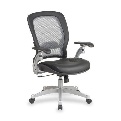 office-star-space-air-grid-leather-office-chair-in-black-and-platinum