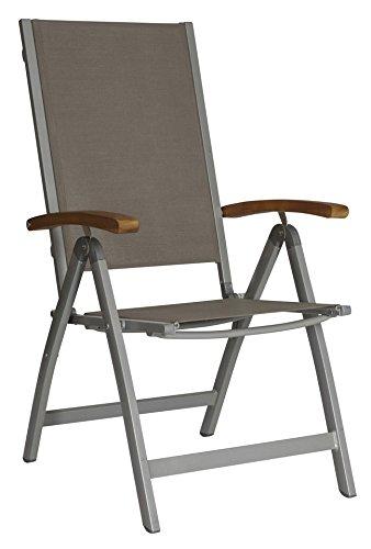 baumarkt direkt Hochlehner »Monaco« 2 Stühle, grau jetzt bestellen