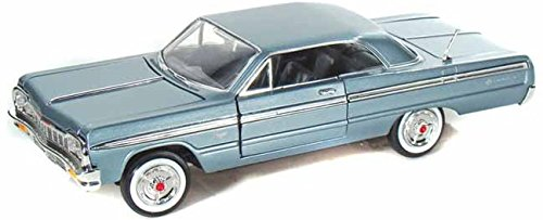 motor-max-mm73259mb-1964-chevrolet-impala-fahrzeug-metallicblau