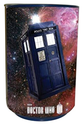 Underground Toys Doctor Who Tardis & Dalek Talking Bin (Doctor Who Trash Can compare prices)