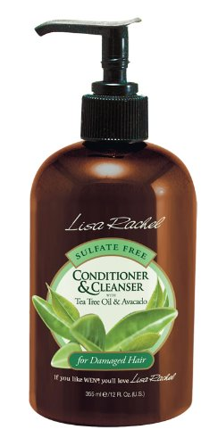 Lisa Rachel Sulfate Free Conditioning Cleanser Shampoo - Damaged Hair 12 oz. (Pack of 2)